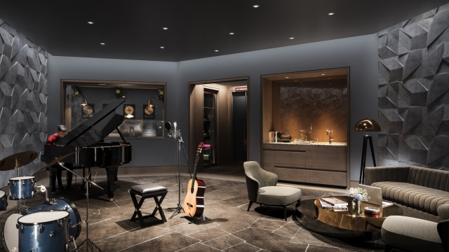 Waterline_Square_The_Waterline_Club_Amenities_Music_Studio